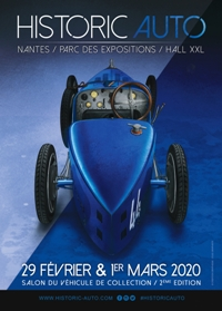 Affiche officielle Salon historic auto